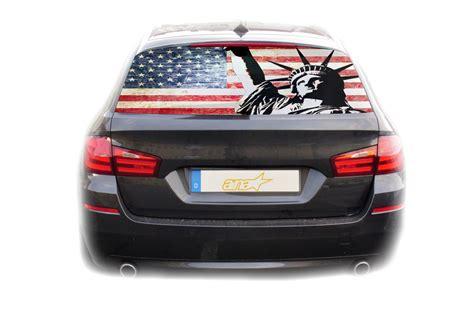 Auto Sticker Usa by Auto Kfz Heckscheibe Fenster Aufkleber Sticker Usa Amerika