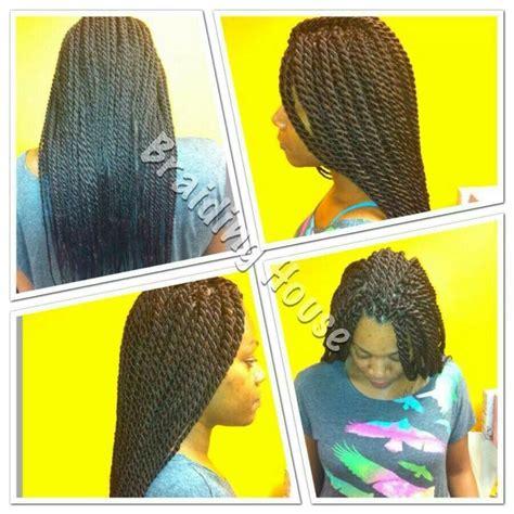 large senegalese twist large senegalese twist hairstyles galore pinterest