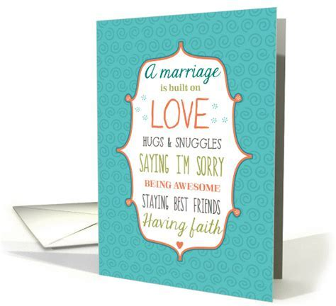 Words to Live By   Lesbian Wedding Congratulations card