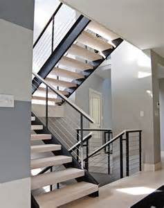 Home Interior Railings 25 best ideas about modern staircase on pinterest