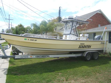 panga fishing boats for sale 2004 angler panga 26 new yamaha 250 fourstroke the