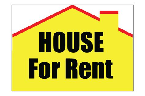 Printable House For Rent Sign | printable house for rent sign free pdf download for rent
