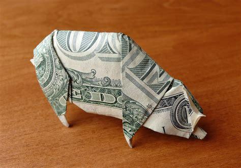 Dollar Origami Pig - dollar bill pig by craigfoldsfives on deviantart