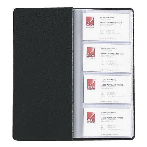 Business Card Folder marbig business card holder black ebay