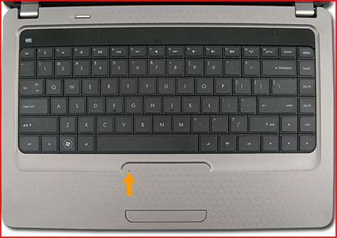 Touchpad Laptop Compaq how to disable the touchpad on my hp compaq presario cq 42 hp support forum 632691