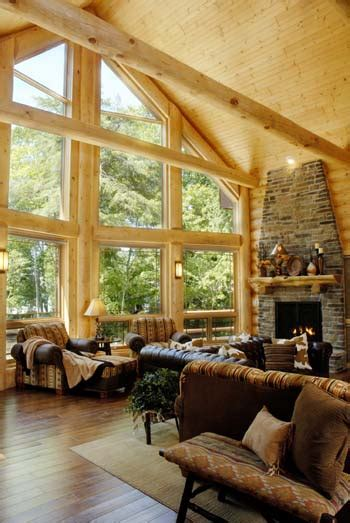 how to re design your log home interior