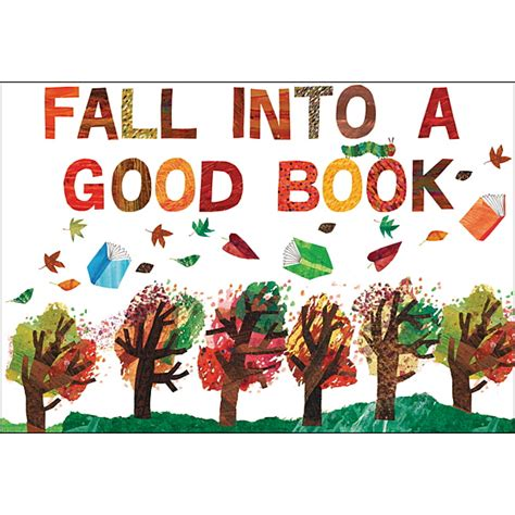 Classroom Decorations The Eric Carle Museum Of Picture Book Art Fall Into A Book Template