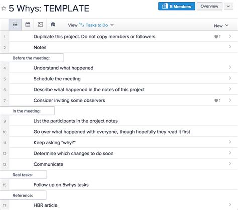 5 why template excel ask 5 whys to get to the root of any problem
