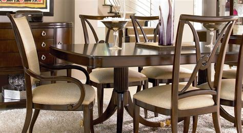 dining room table chairs wood dining room furniture sets thomasville furniture