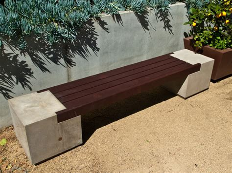 how to make a concrete bench seat cheng concrete exchange drawings rhomba bench