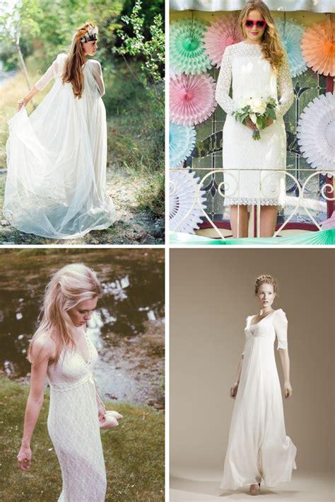 Hochzeit 70er Jahre by Brautmode Trends 2014 Teil 1 Der 70er Look Verr 252 Ckt
