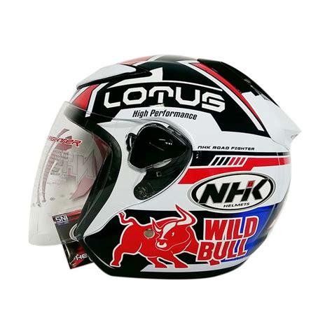 Helm Nhk Kualitas Terbaik Helm Nhk R6 Rally Black Silver Half nhk helmet half the best helmet 2018