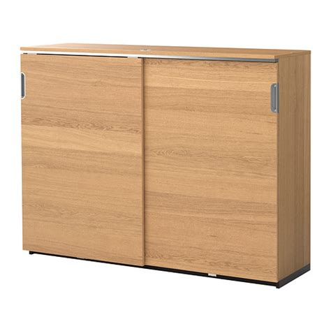 ikea sliding door cabinet galant cabinet with sliding doors oak veneer 160x120 cm ikea