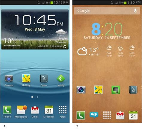 android home screen design the home screen seemed a