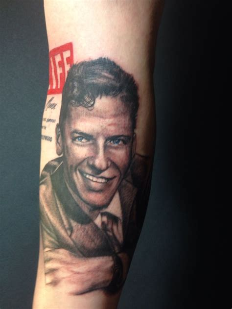 frank sinatra tattoo 1000 images about frank sinatra on