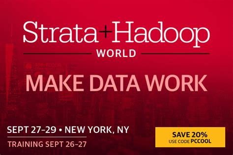 Cool Conference Giveaways - strata hadoop world nyc conference pass giveaway discount awesome time wasters