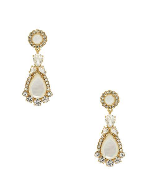 Kate Spade Earing 0oru1624 kate spade butter up statement earrings in gold multi lyst