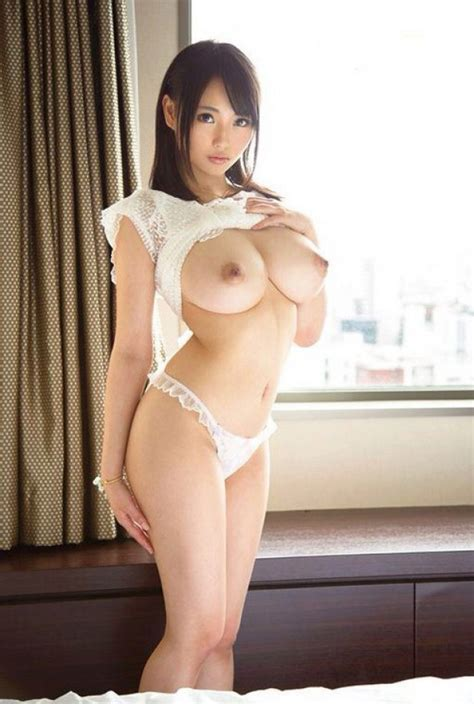Beautiful Japanese Babe With Super Big Titties