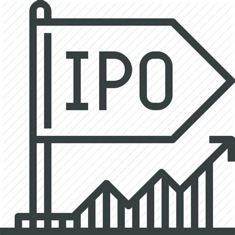 Mba Financial Markets Ipu by Initial Invest Ipo Market Offer Stock Icon