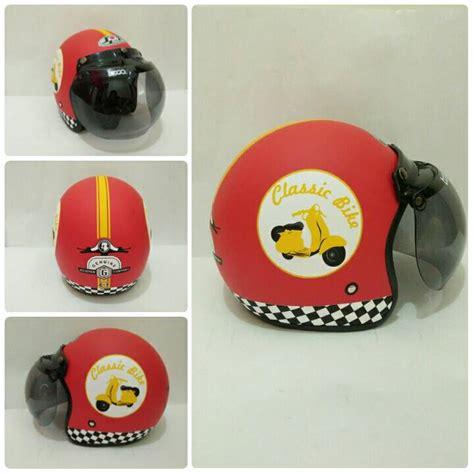 Helm Bogo Classic jual helm bogo jpn classic bike warna merah kaca bogo original di indonesia katalog or id
