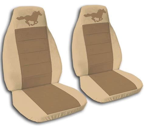 mustang seat cover 2 brown seat covers ford mustang 2005 2007