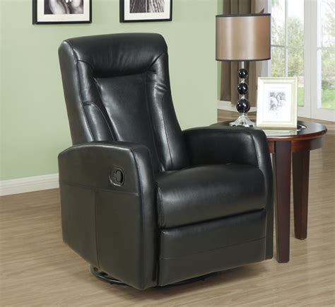 monarch specialties chair black bonded monarch specialties recliner swivel rocker black