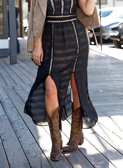 how to wear cowboy boots fashion how to wear cowboy boots from day to
