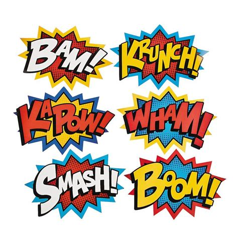 printable superhero quotes superhero word cutouts hang from ceiling from fishing