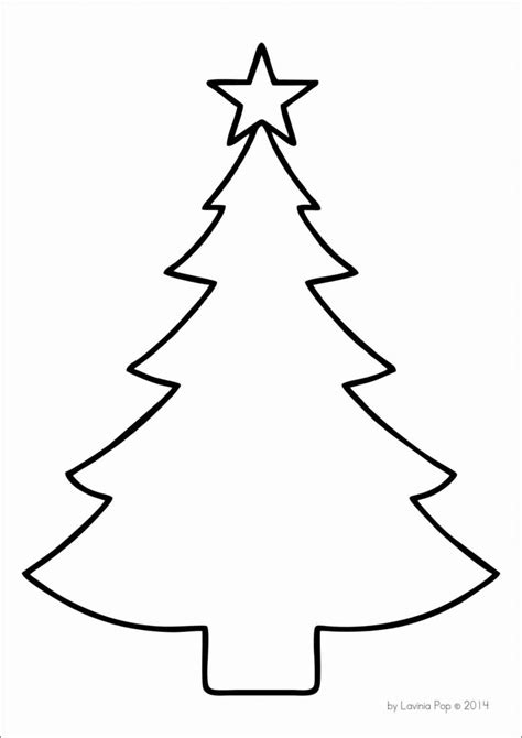christmas tree printable template www imgkid com the