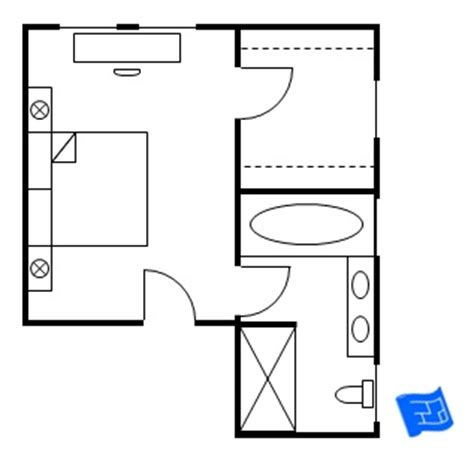 House 2 Floor Plans master bedroom floor plans