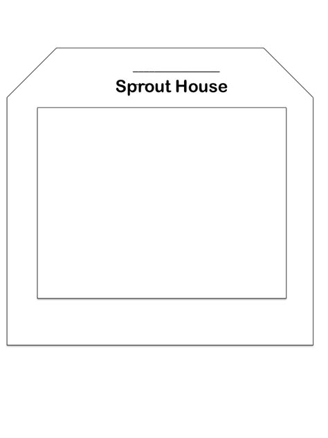 printable sprout house teaching science with lynda seed book out of a seed