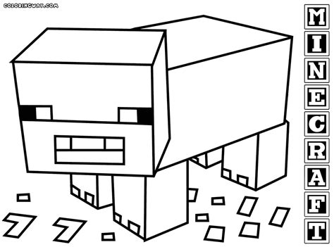 minecraft coloring pages coloring pages to download and