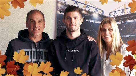 christian pulisic family this is how christian pulisic celebrate thanksgiving with