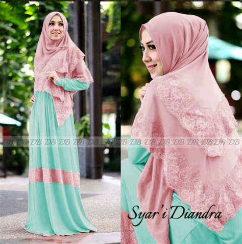 Mizuki Syari Ori Gamis Set Cantik baju gamis cantik diandra syari y1025 busana muslim