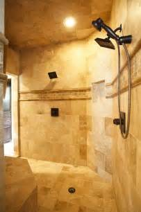 Master Bath Showers Master Bath Shower Traditional Bathroom Houston By