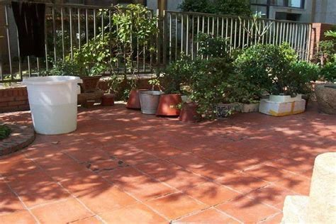 Terracotta Outdoor Tiles   Buy Rustic Handmade Terracotta