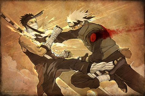 film naruto kakashi vs zabuza sketchdump 02 kakashi vs zabuza by kejablank on deviantart