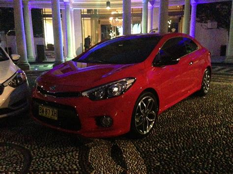 Kia Cerato Koup Turbo Kia Cerato Koup Turbo Coming In October Photos 1 Of 8