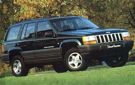 92 Jeep Grand тест драйв Jeep Grand 1992 98