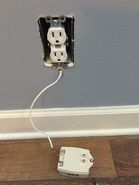 receptacle rewiring my security alarm power source