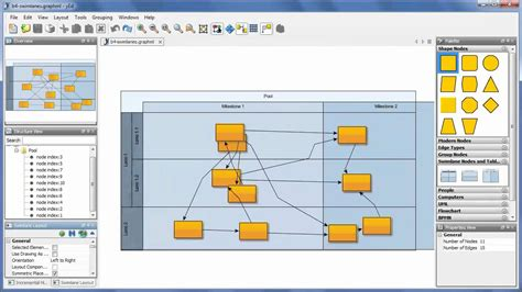 network diagram editor yed graph editor in 90 seconds