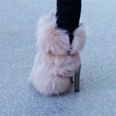 35 best images about fur boots on dress winter