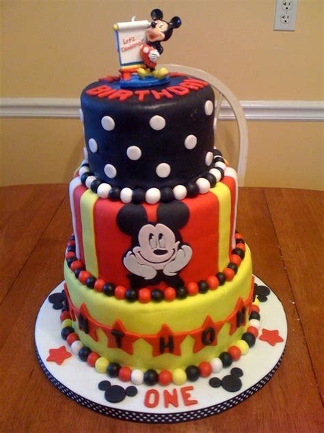 images  mickey mouse cakes  pinterest