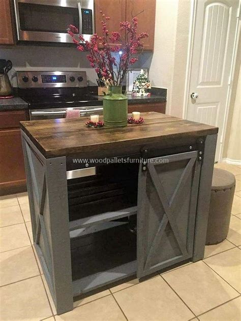 pallet kitchen island creative home furnishing with recycled pallets wood pallet furniture