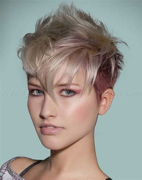 undercut hairstyles for older women 15 short spiky haircuts short hairstyles 2017 2018