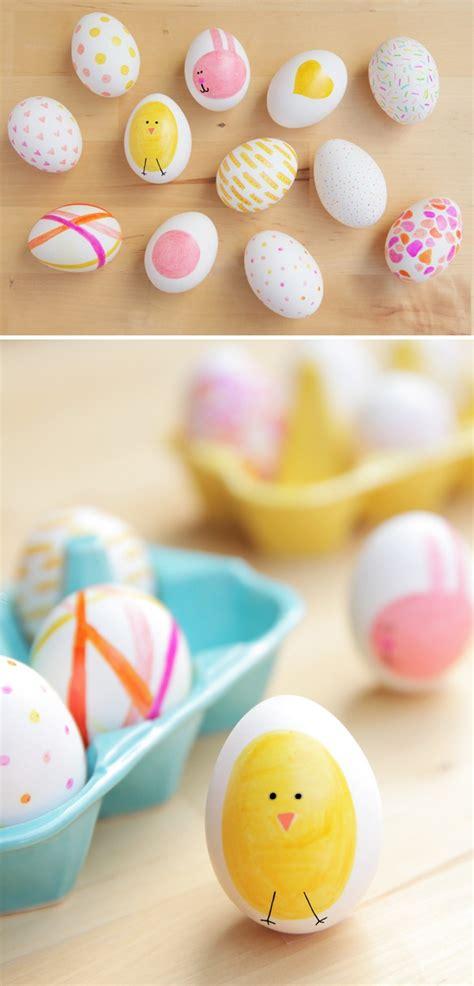 easter egg dye ideas diy easter eggs no dye ideas the 36th avenue