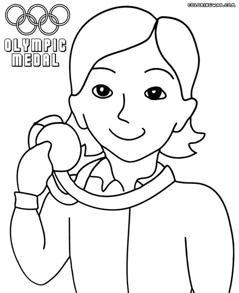 olympic coloring sheets olympic medal coloring page coloring home