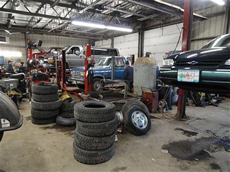 the garage auto auto repair service nobles tiresnobles tires