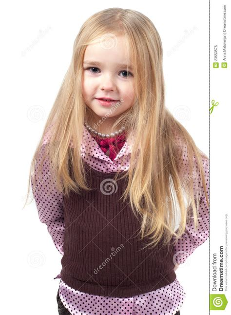 girls long hairstyles little girls long hairstyle gallery portrait of little cute girl with long hair royalty free
