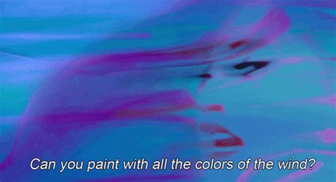 can you paint with all the colors of the wind